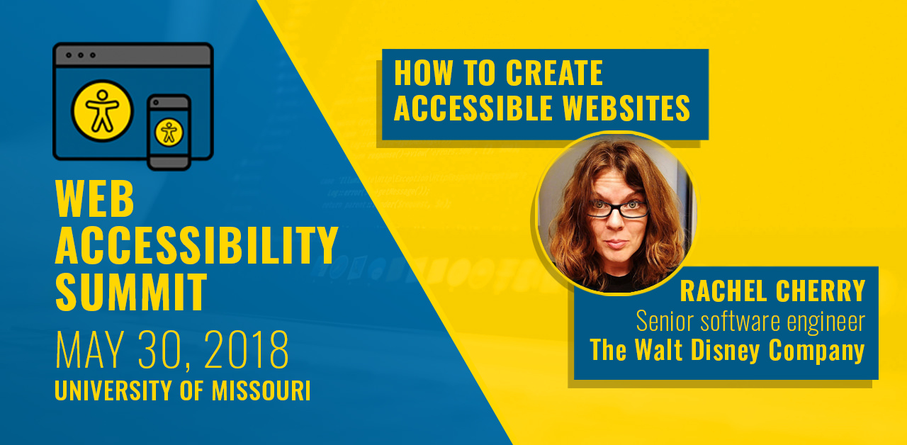 How to create accessible websites by Rachel Cherry