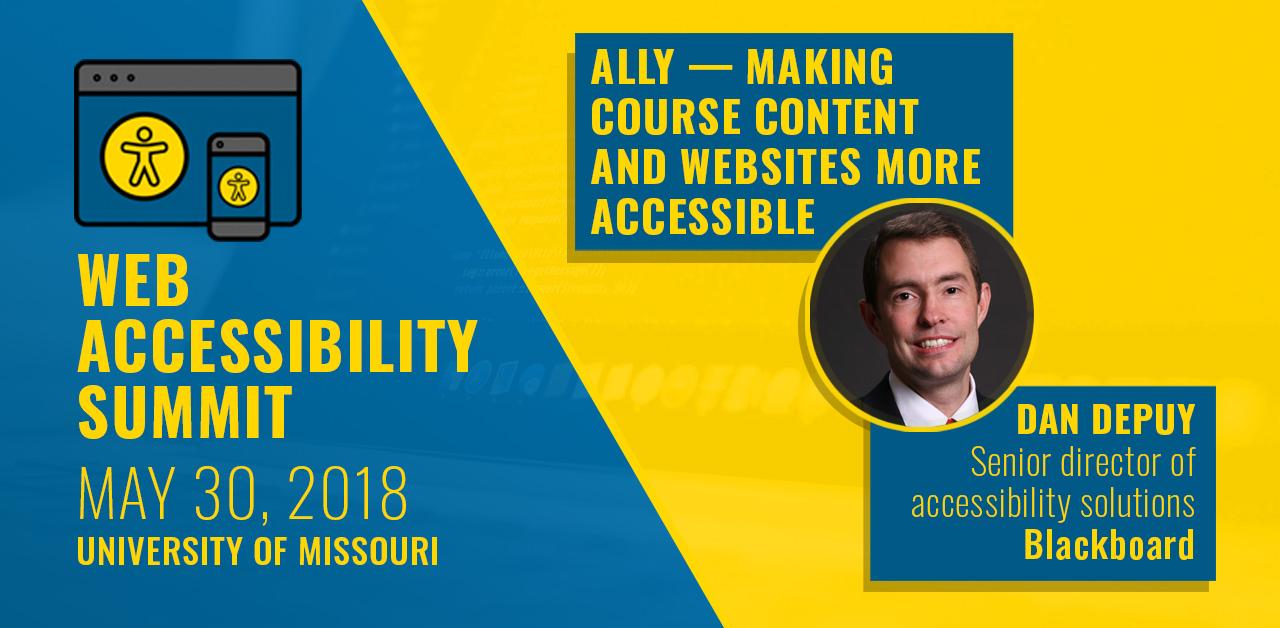 Dan Depuy, Senior Director of Accessibility Solutions